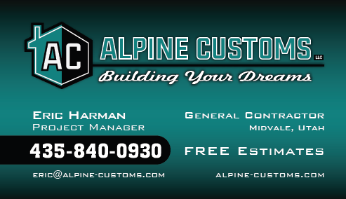 Alpine Custom Business Cards Designed by EXPAND