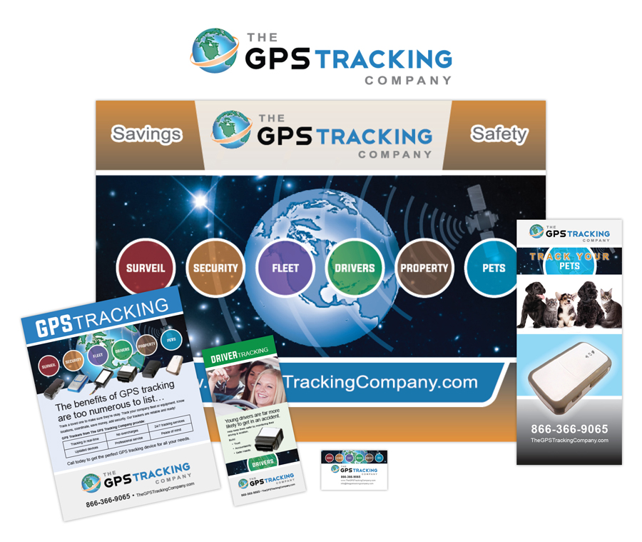 The GPS Tracking Company Collateral Designed by EXPAND Business Solutions