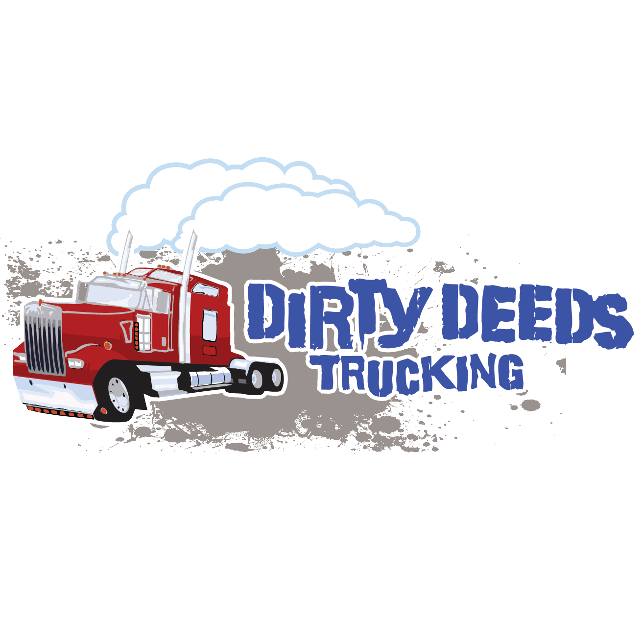 Dirty Deeds Trucking Logo