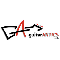 Guitar Antics Logo Designed by EXPAND