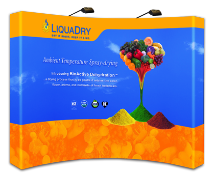 LiquaDry Tradeshow Exhibit Designed by EXPAND