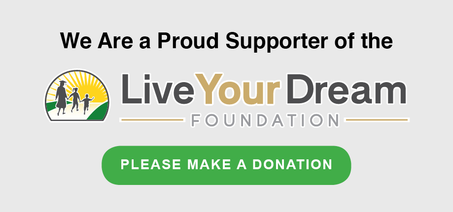 EXPAND is a Proud Supporter of the Live Your Dream Foundation