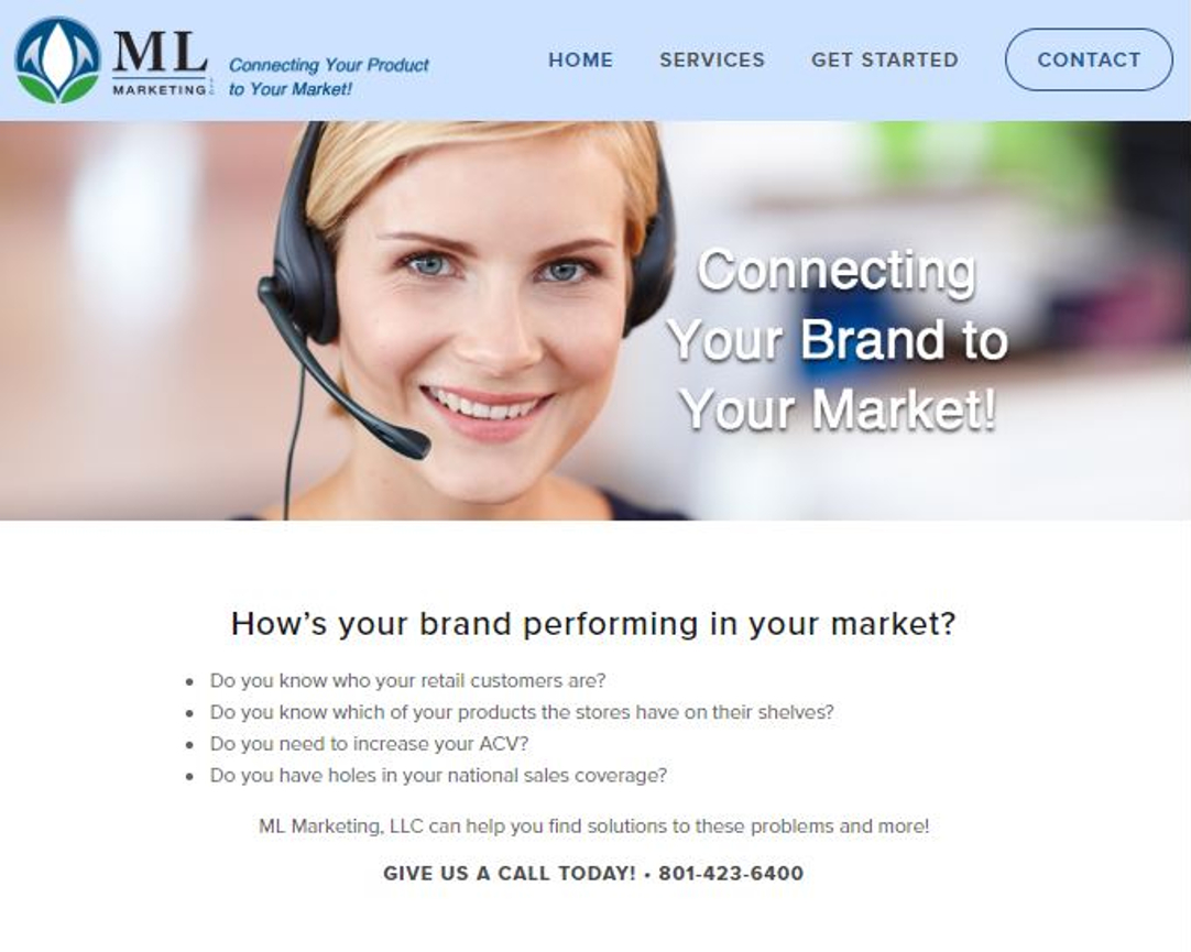 ML Marketing Web Site by EXPAND Business Solutions