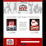 MVP Jersey Framing Website Designed by EXPAND