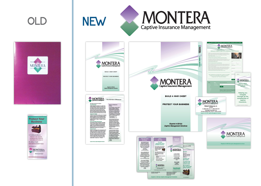 Montera Management Identity & Collateral Package Designed by EXPAND