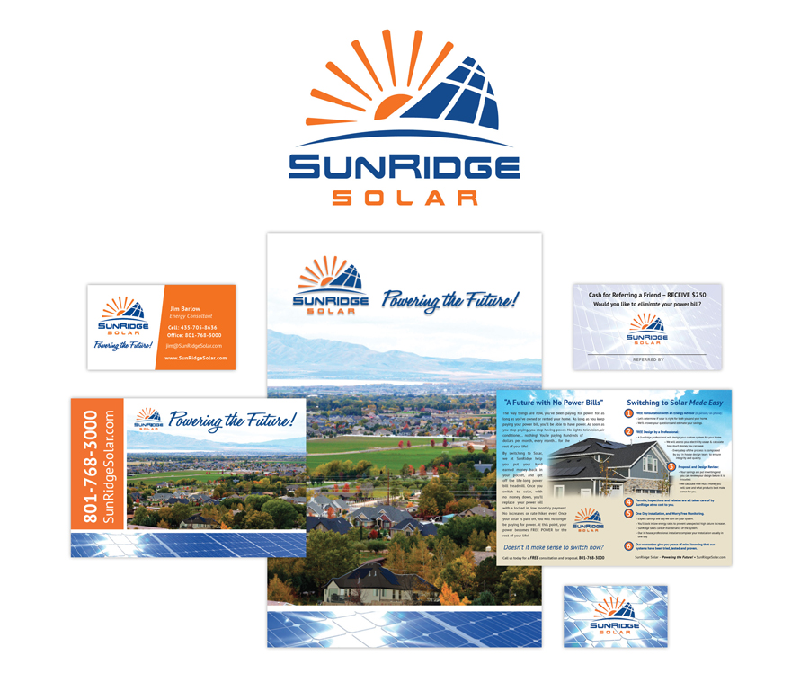 SunRidge Soalr Business Card Designed by EXPAND