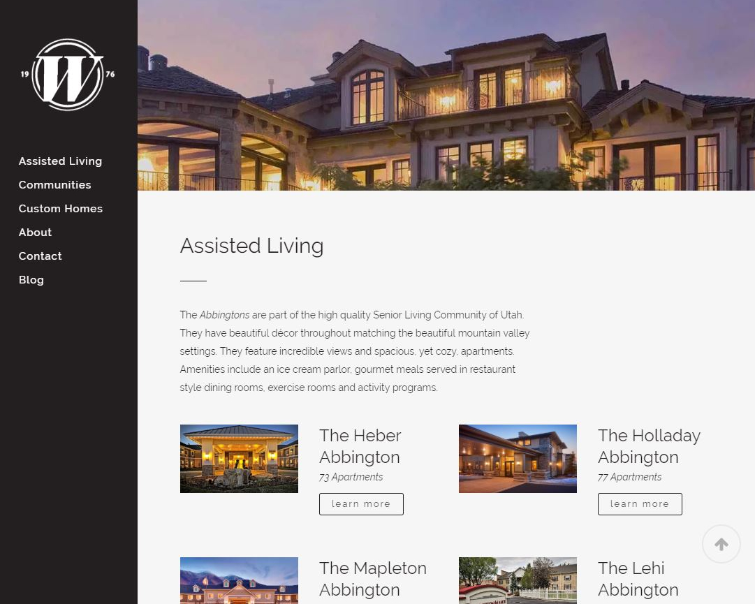 WATTs Living Web Site by EXPAND Business Solutions