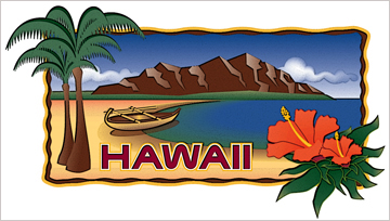 Hawaii Towel Designed by EXPAND